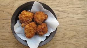 Fried chicken bits